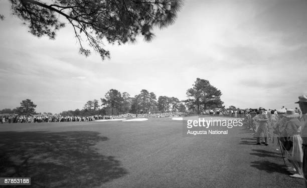 The seventh hole during the 1964 Masters Tournament at Augusta National Golf Club in April 1964 in Augusta Georgia