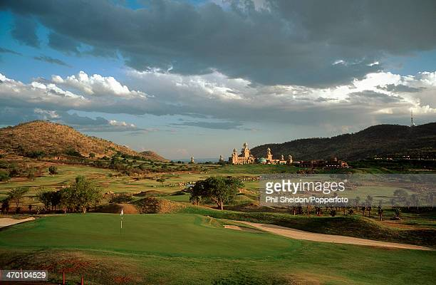 The seventh hole of the Lost City Course at the Sun City Golf Club South Africa 7th September 1999