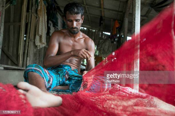 The severe cyclonic storm Amphan had left a trail of destruction in its wake over Satkhira, Bangladesh on August 13, 2020.Suroj ali is a fisherman,...