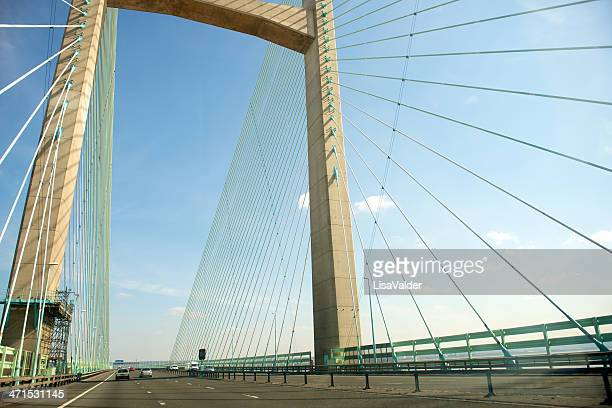 The Severn Bridge, Pont Hafren, Wales, UK