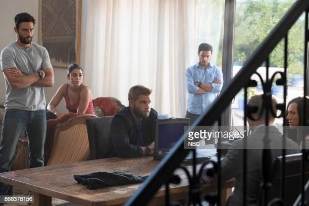 THE BRAVE 'The Seville Defection' Episode 106 Pictured Noah Mills as Sergeant Joseph 'McG' McGuire Natacha Karam as Sergeant Jasmine 'Jaz' Khan Mike...