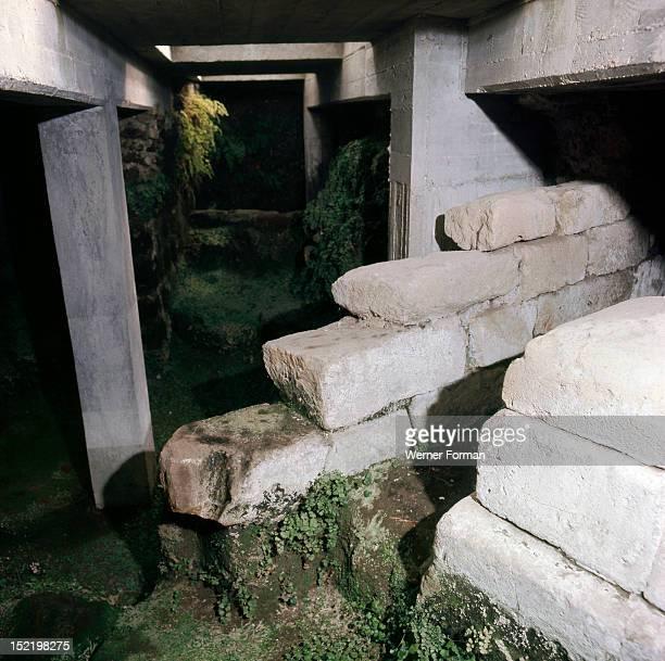 The sewers beneath the Roman Forum Italy Roman Roman Forum