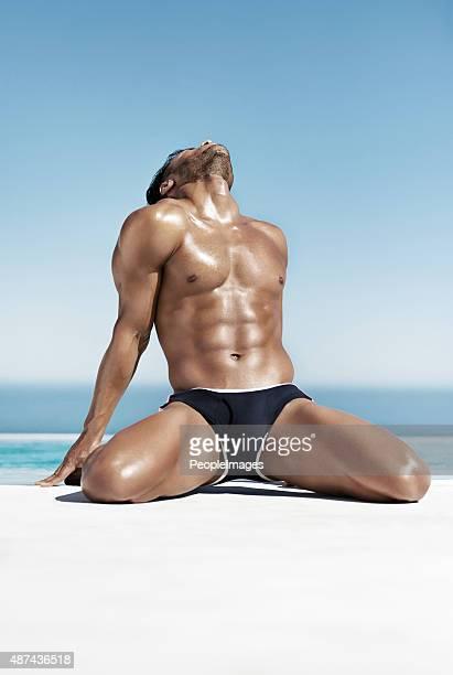 the sexiest man alive - ontbloot bovenlichaam fotos stockfoto's en -beelden