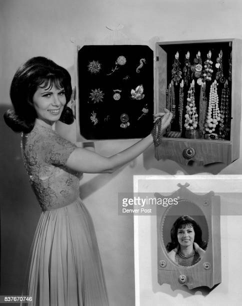 The shadowbox jewel cabinet shown here with Nina Roman of NBC's Morningstar program is both elegant and practical A large mirror on the door makes...
