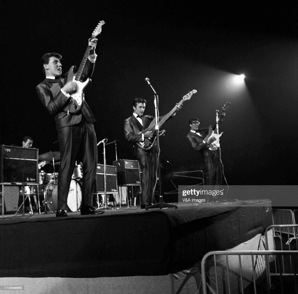 Bruce Welch: The Shadows, Brian Bennett , Bruce Welch, Jet Harris, Hank