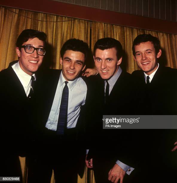 'The Shadows' Hank Marvin John Rostill Bruce Welch and Brian Bennett