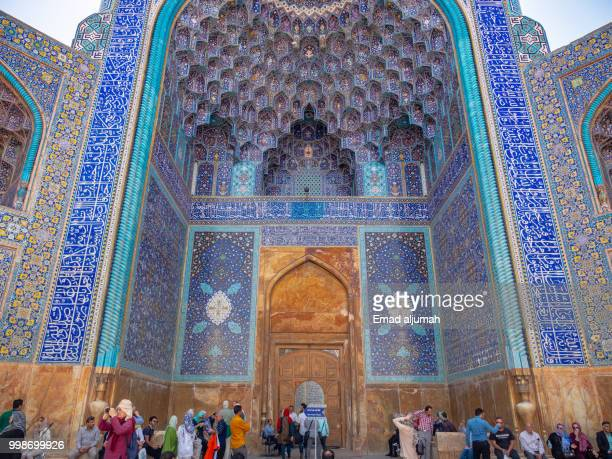 The Shah Mosque in Naghsh-e Jahan Square, Isfahan, Iran