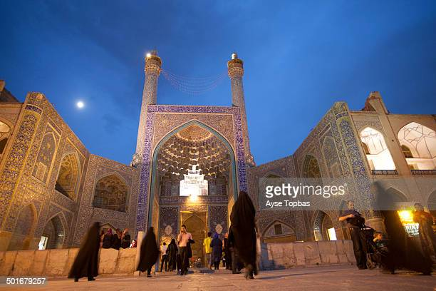 CONTENT] The Shah Mosque of Esfahan is one of the everlasting masterpieces of architecture in Iran General view of Shah Mosque in situated on the...