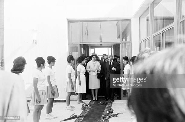 The Shah Of Iran In June 1963 A Hamadan le 14 juin 1963 le SHAH d'IRAN fait sa première sortie avec son épouse FARAH DIBA après les trois jours...