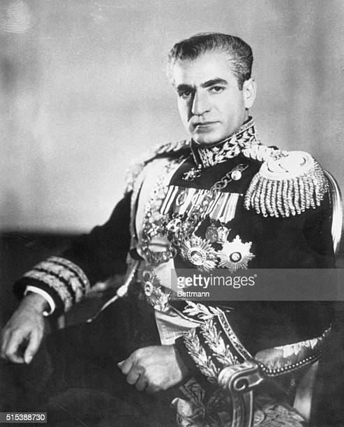The Shah of Iran in Uniform