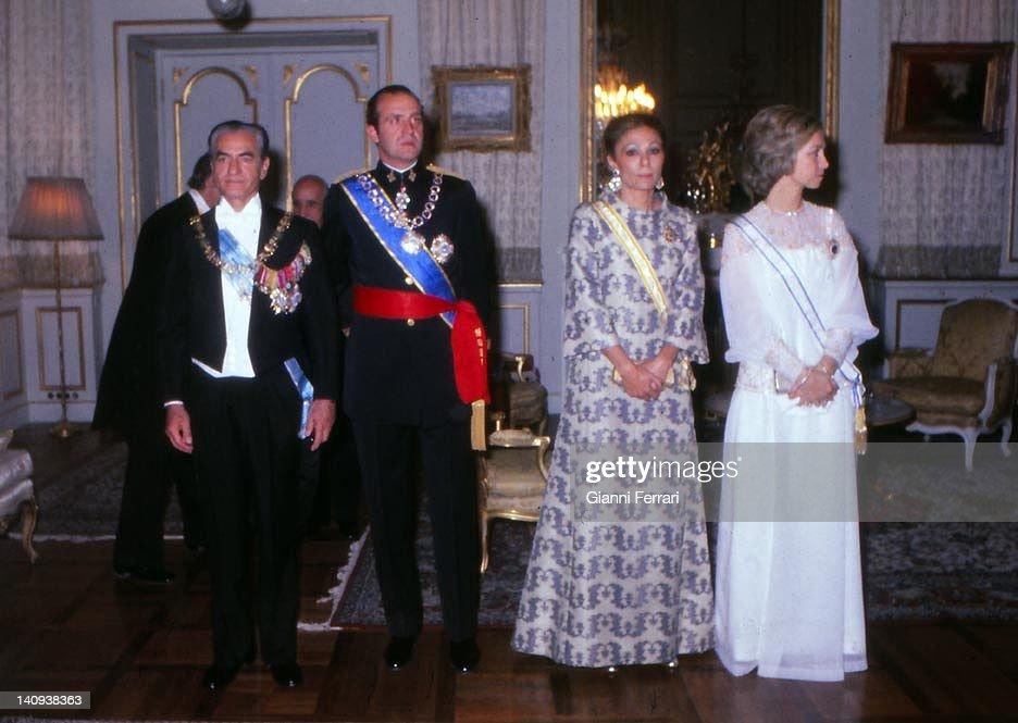 Spanish Kings In Iran : News Photo
