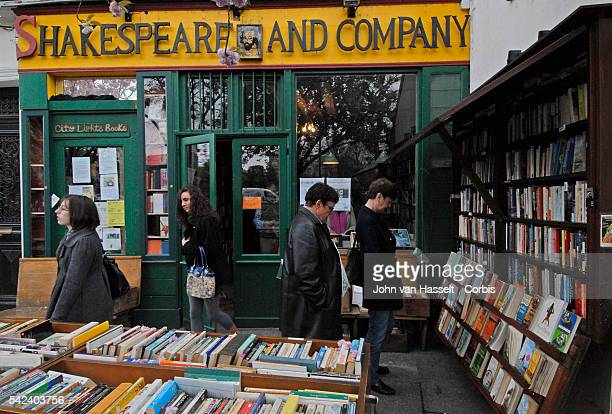 The Shakespeare and Company bookstore located on the Left Bank in Paris is an oasis of 20th century bohemian and Lost Generation literary history...