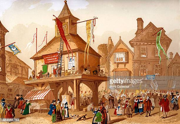 The Shakespeare Jubilee at Stratford upon Avon, c1850. The Shakespeare birthday celebrations in the town that was his birthplace date back to the...