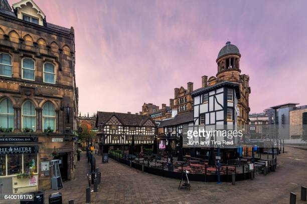 the shambles - manchester england stock pictures, royalty-free photos & images