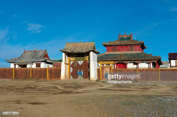 The Shankh Monastery Central Mongolia about 25 kilometers South East of Kharakhorum is one of Mongolias oldest and most historically significant...