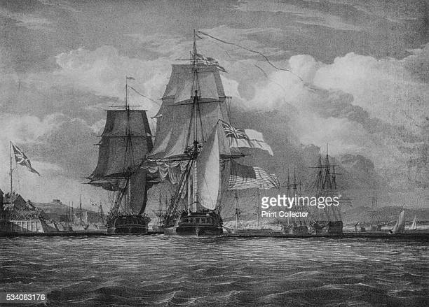 The Shannon and the Chesapeake' from 'Old Naval Prints' by Charles N Robinson Geoffrey Holme 1924 On 1 June 1813 the American frigate USS...