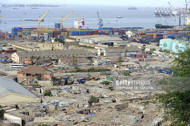 The shanty town of Boa Vista is pictured in Luanda on December 21 2009 The OPEC oil producers' cartel will hold output quotas unchanged at its...