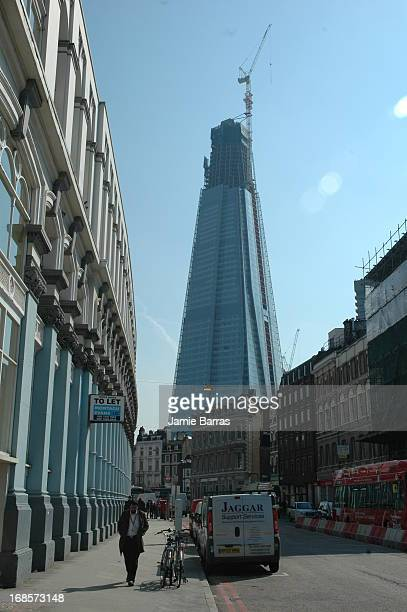 The Shard, 32 London Bridge SE1 , Southwark, London. AKA London Bridge House, and destined to be London's tallest building. State of construction as...