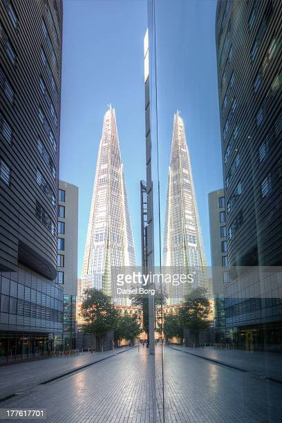 CONTENT] The Shard is Europes tallest building and is sometimes referred to as a Shard of Glass early morning light illuminates the glass structure