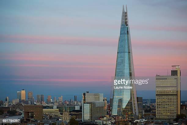 the shard. london, england - shard london bridge stock pictures, royalty-free photos & images