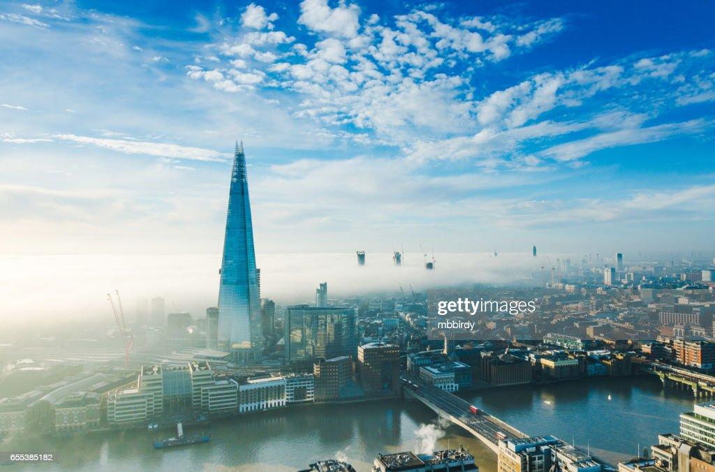 The Shard skyscraper in London : Stock Photo