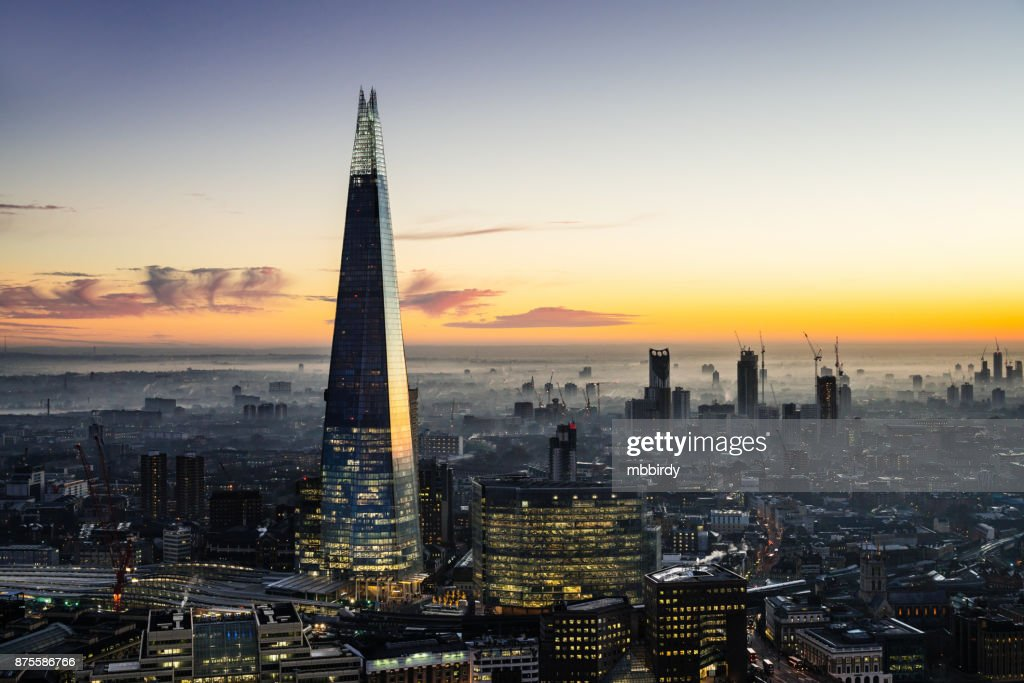 The Shard skyscraper in London : Stock Photo