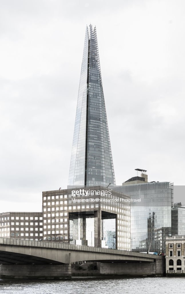 The Shard (Renzo Piano architect), the tallest building in Europe : Foto stock