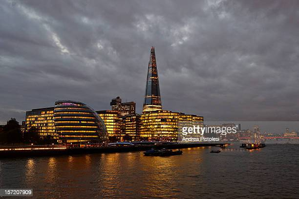The Shard tower and More London development