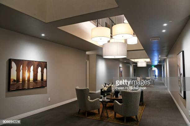 The shared spaces hallways etc have been elegantly designed with posters lighting features and comfortable seating areas at the new Mirador at...