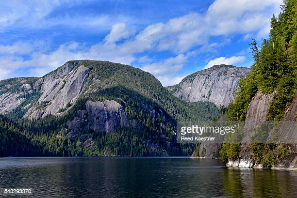 The sheer granite walls of Misty Fiords National Monument