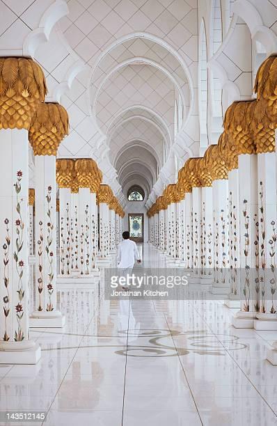 the sheikh zayed grand mosque 6 - mosquée photos et images de collection