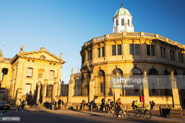 The Sheldonian Theatre in Oxford, UK.