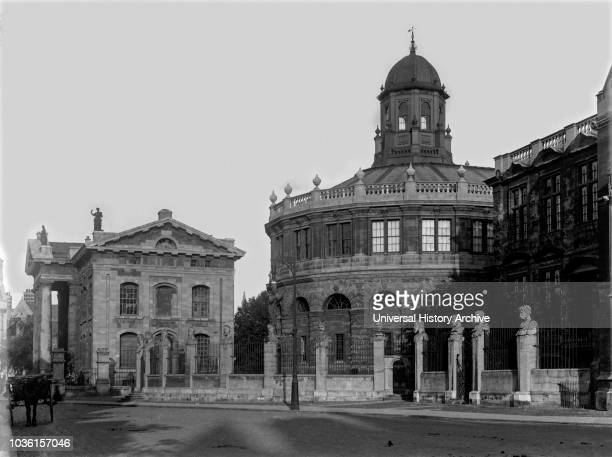 The Sheldonian Theatre, located in Oxford, England, was built from 1664 to 1669 after a design by Christopher Wren for the University of Oxford. The...