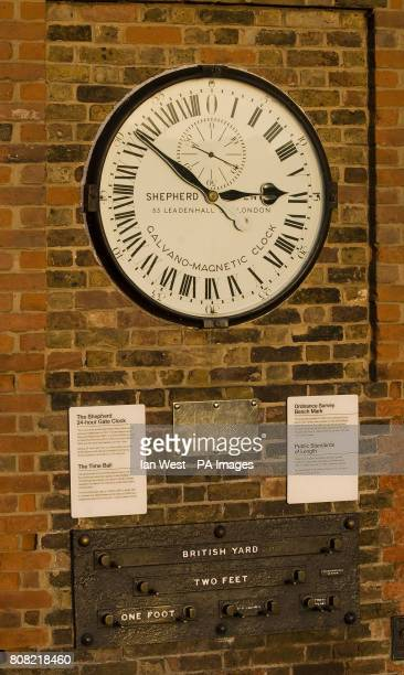 The Shepherd 24 hour clock at the Greenwich Observatory