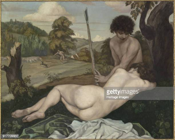 The Shepherd's Rest Found in the Collection of Musée d'Orsay Paris