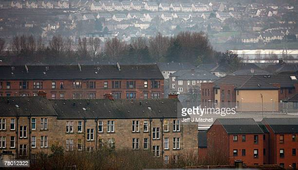The Shettleston area of Glasgow a former residence of Peter Tobin who was charged last week for the murder of 15 year old Vicky Hamilton who went...