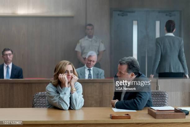 "The Shillelagh"" Episode 207 -- Pictured: Amanda Peet as Betty Broderick, Steven Culp as Bakter FKA Bibb --"
