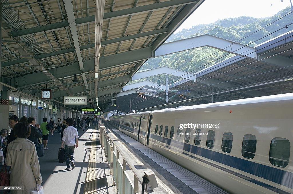 Bullet Trains in Japan : Nachrichtenfoto