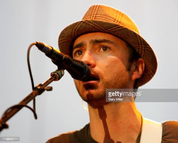 The Shins during mtvU Campus Invasion at The Backyard in Austin Texas United States