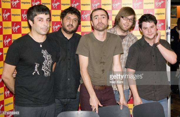 The Shins during The Shins Instore Performance and Signing at Virgin February 1 2007 at Virgin Megastore in London London Great Britain