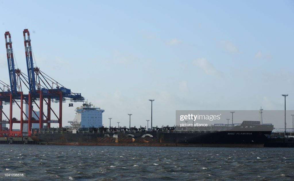 The Ship Flaminia Is Docked At Jadeweserport News Photo Getty