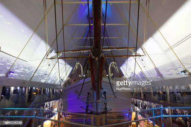 The ship Fram was used for arctic and antearctic explorations by the Norwegian explorers Fridtjof Nansen Otto Sverdrup Oscar Wisting and Roald...