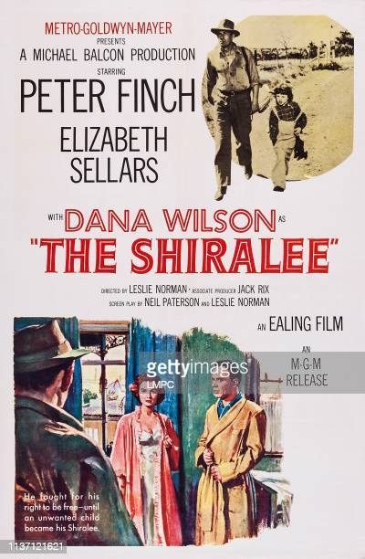 The Shiralee poster US poster art top right Dana Wilson bottom left Elizabeth Sellars 1957