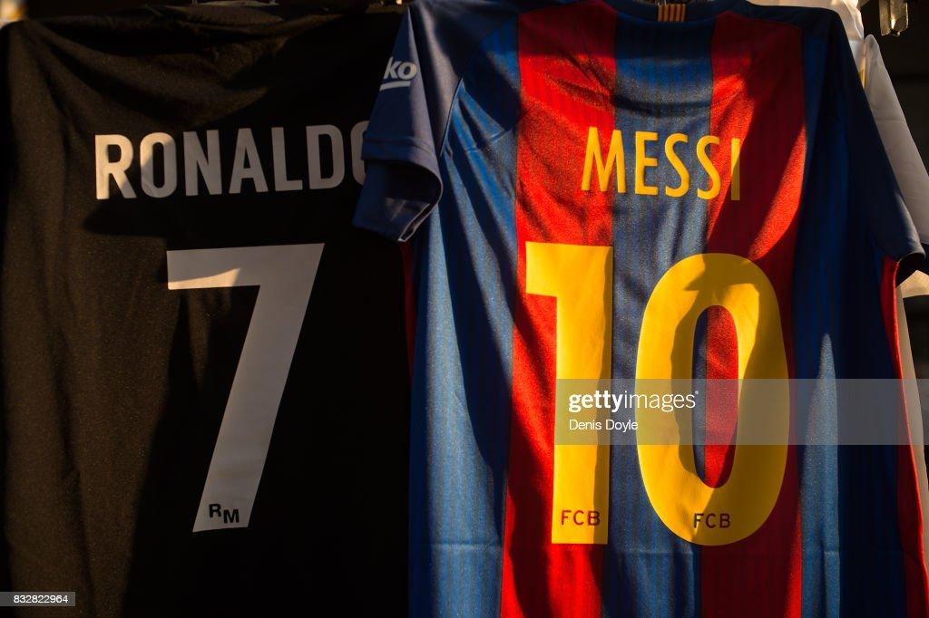 Real Madrid v FC Barcelona - Supercopa de Espana: 2nd Leg : News Photo