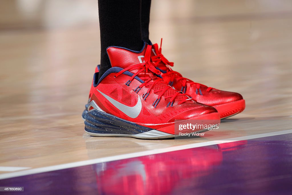 the-shoes-belonging-to-paul-pierce-of-the-washington-wizards-in-a-picture-id467650690