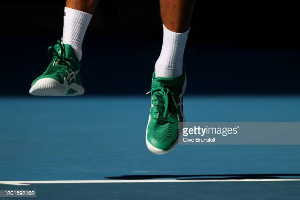 459 Djokovic Shoe Photos And Premium High Res Pictures Getty Images
