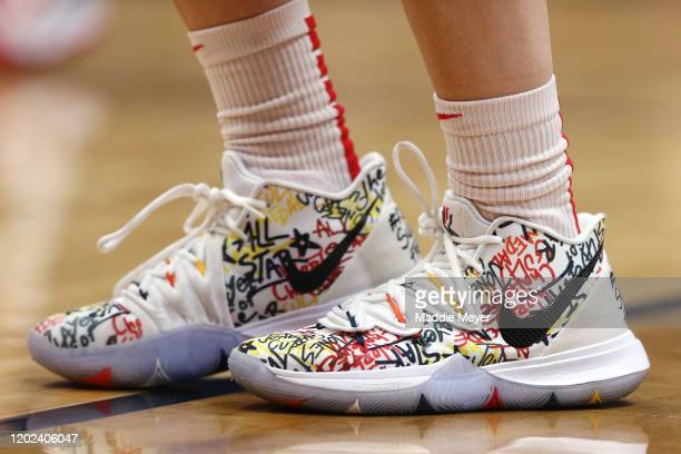 The shoes of Sue Bird of the United States during USA Women's National Team Winter Tour 2020 game between the United States and the UConn Huskies at...