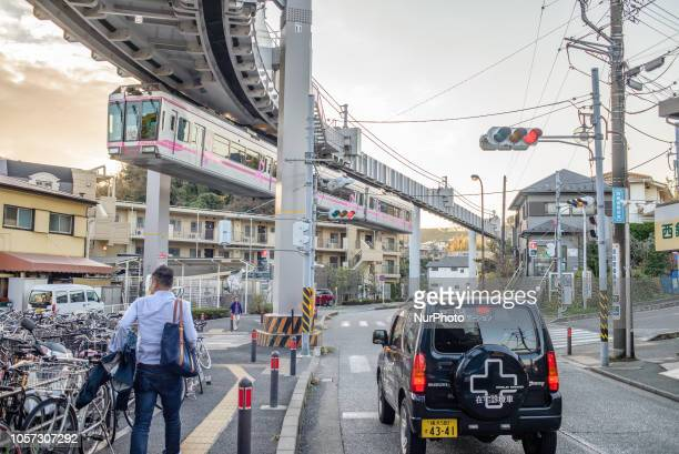 The Shonan Monorail is the first suspended monorail of its kind opened in Japan The Shonan Monorail connects Enoshima and Ofuna districts Kanagawa...