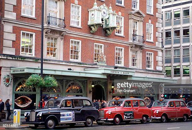 The Shop Fortnum And Mason Grocers And Provision Merchants To Her Majesty The Queen And Suppliers Of Leather And Fancy Goods To Her Majesty The Queen...