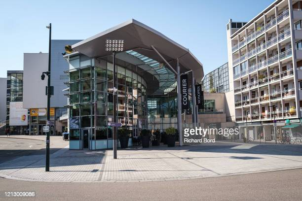 The shopping mall 'Courier' is closed on March 17, 2020 in Annecy, France. Coronavirus has spread to over 156 countries in a matter of weeks,...